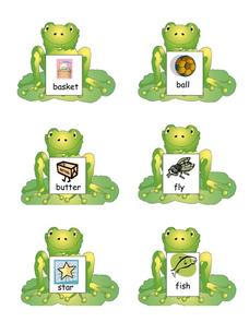 Frog Compound Words Printables & Template