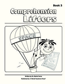 Comprehension Lifters Worksheet
