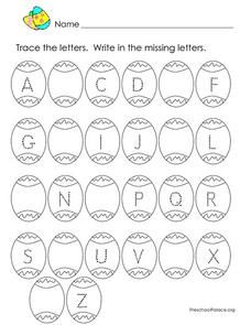 Easter Egg Alphabet Fun Lesson Plan