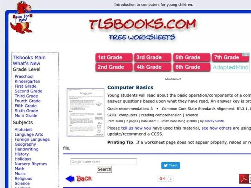 Worksheets Basic Computer Skills Worksheets collection of basic computer skills worksheets sharebrowse templates and worksheets