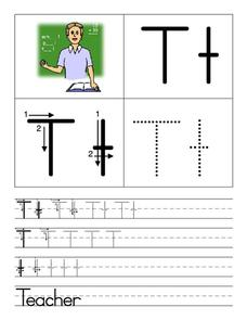 Teacher for Tt Worksheet
