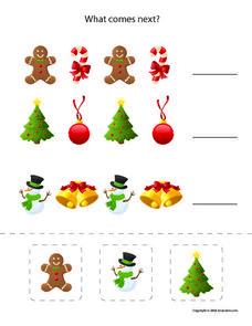 Christmas: What Comes Next? Worksheet
