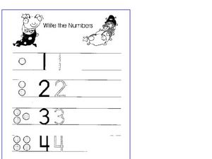 Write the Numbers Worksheet