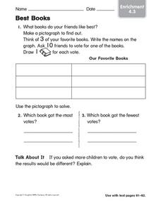 Best Books: Enrichment Worksheet