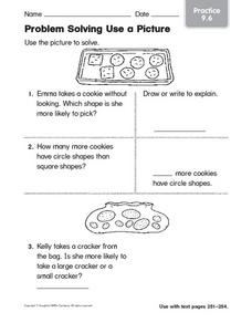 Problem Solving Use a Picture: Practice Worksheet