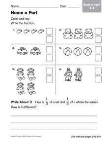 Name a Part Worksheet