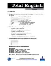 Total English: ELL Activity 5 Worksheet
