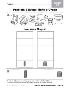 Problem Solving: Make a Graph Worksheet
