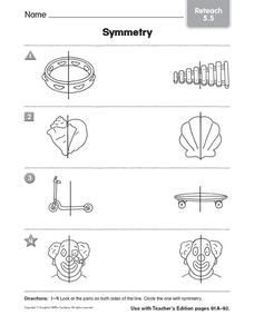 Symmetry 2 Worksheet