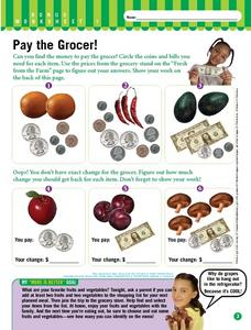 Pay the Grocer! Worksheet
