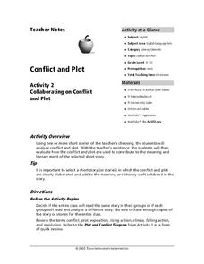 Conflict and Plot Lesson Plan
