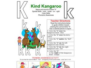 Kind Kangaroo Worksheet