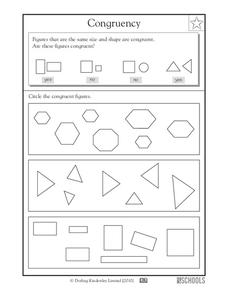 Congruency Worksheet