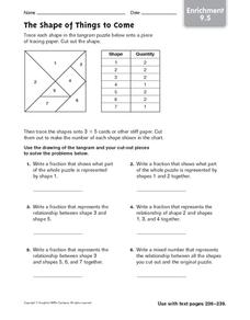 The Shape of Things to Come: Enrichment Worksheet
