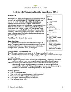 Understanding the Greenhouse Effect Lesson Plan