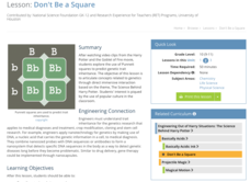 Don't Be a Square Lesson Plan