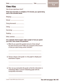 Time Flies: Enrichment Worksheet