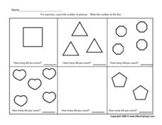 I Can Count! Worksheet