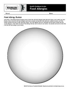 Food Allergies Activity Worksheet