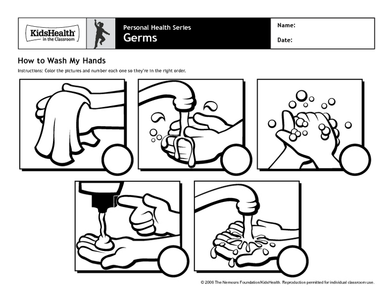 Hand Washing Sequence Lesson Plans & Worksheets Reviewed