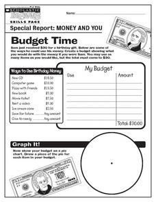 Budget Time Worksheet