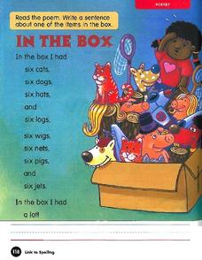 Poetry: In The Box Worksheet