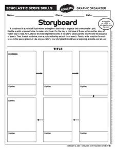 Storyboard Template Printable [PDF, Word] | Find all Storyboard ...