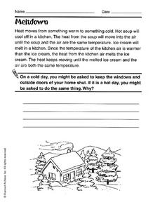 Meltdown Worksheet