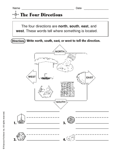 Northsoutheastwest Lesson Plans Worksheets Reviewed By Teachers