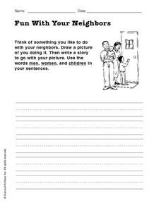 Fun With Your Neighbors Worksheet