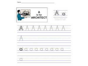 A is for Architect Worksheet
