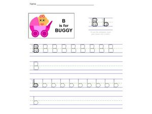 B is for Buggy Worksheet