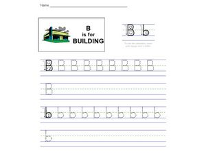 B is for Building Worksheet