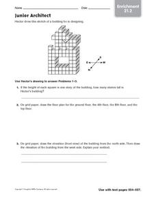 Junior Architect - Enrichment 21.2 Worksheet