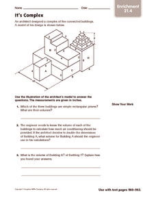 It's Complex: Enrichment Worksheet