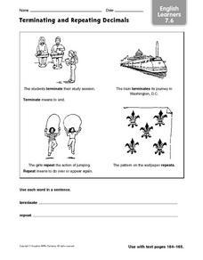 terminating decimal worksheets reviewed by teachers. Black Bedroom Furniture Sets. Home Design Ideas
