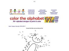 Connect the Dots and See What You Find Worksheet
