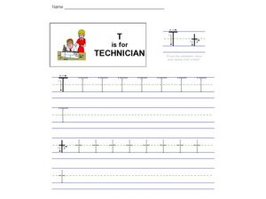 T Is For Technician Worksheet