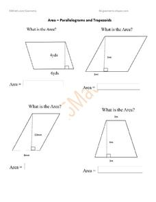 Trapezoid Lesson Plans & Worksheets | Lesson Planet