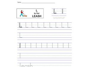 L Is For Leash Worksheet