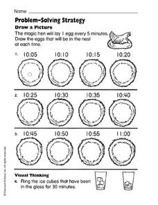 Problem Solve: Draw a Picture Worksheet