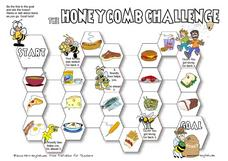 The Honeycomb Challenge: Food Worksheet