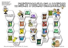 The Honeycomb Challenge: Subjects Worksheet