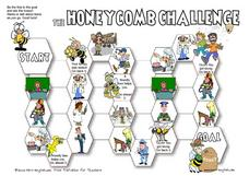 The Honeycomb Challenge: People Worksheet