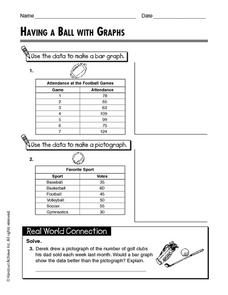 Having a Ball with Graphs Worksheet