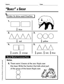 """Bearly"" a Group Worksheet"