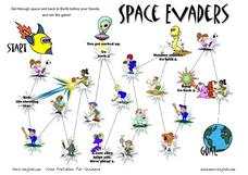 Space Evaders: Sports Worksheet