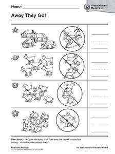 Away They Go! Worksheet