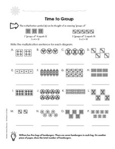 Time to Group Worksheet