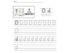 D is for Dentist: The Letter D Interactive